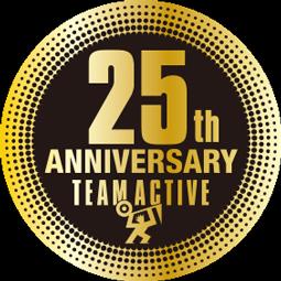 25周年シール